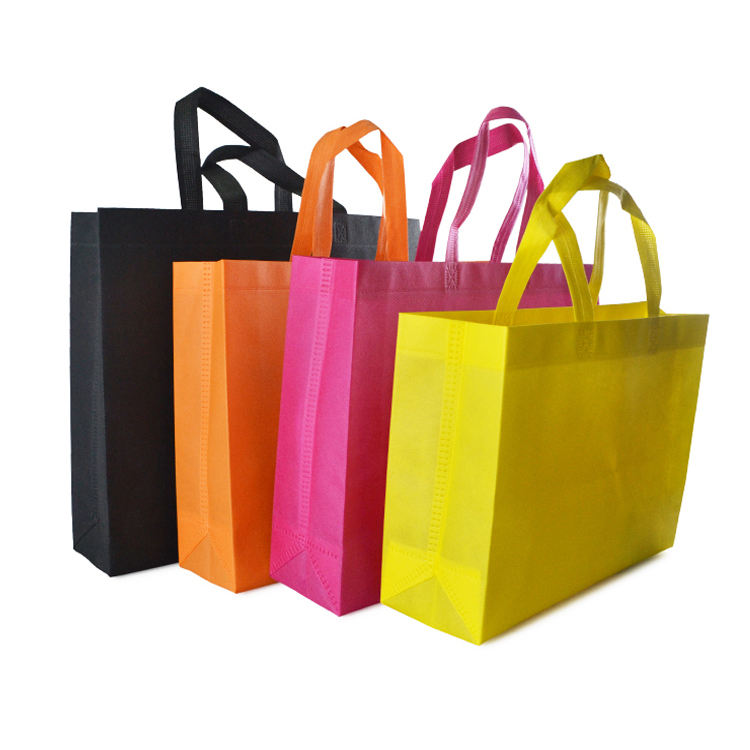 Non-inquinamento Materiale Biodegradabile <span class=keywords><strong>Eco</strong></span>-Friendly Logo Personalizzato PP Tessuto Non Tessuto Carry Shopping Bag