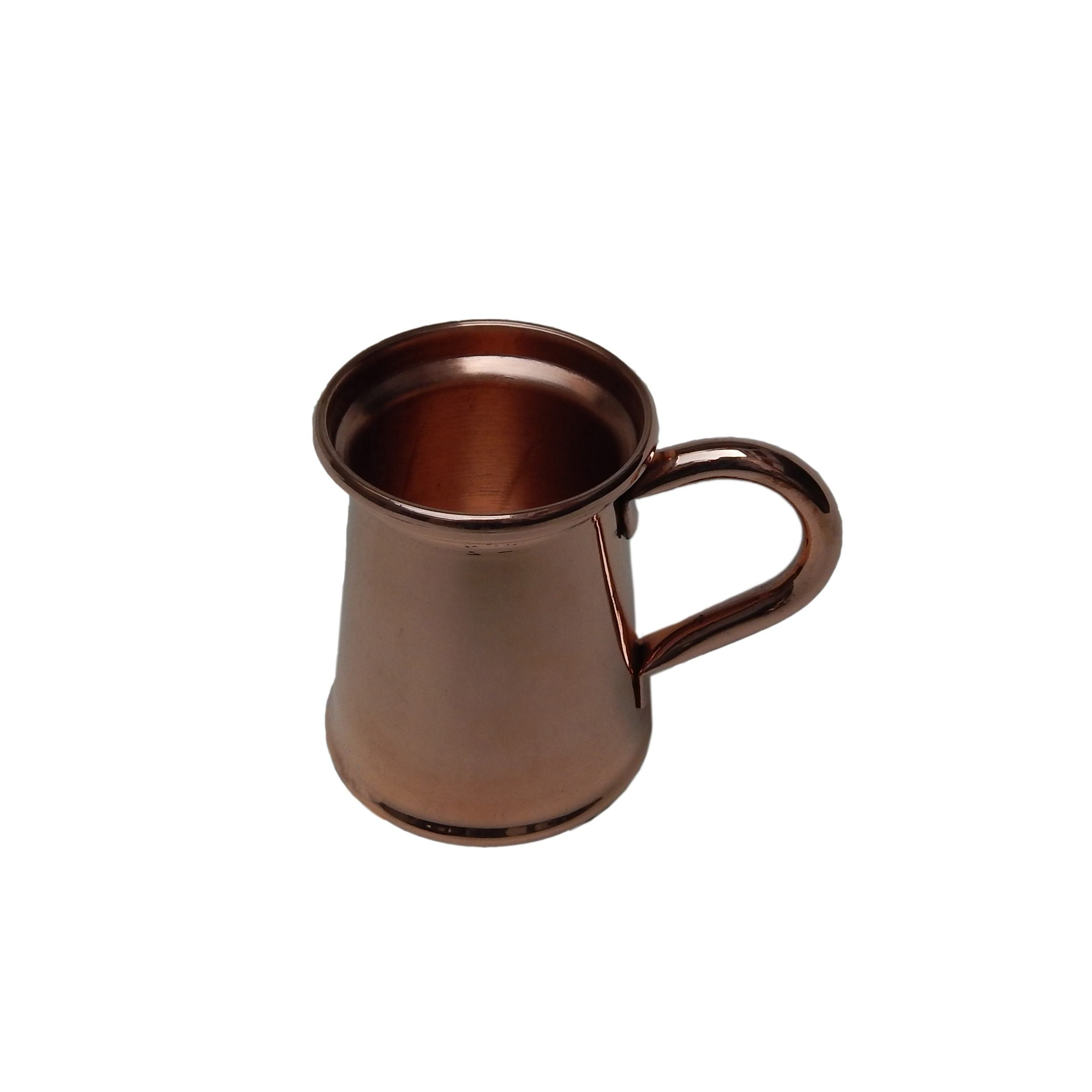 Neuankömmling Pure Copper Cup Moskauer Maultier Bier trinken Cocktail Camping Cup <span class=keywords><strong>Kupfer</strong></span> Drink Bar Bier <span class=keywords><strong>becher</strong></span>