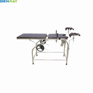 BR-DB33B Guangzhou Simple Gynecology Hospital Medical manual Multifunction for Pregnant woman gyncology obstetric delivery bed