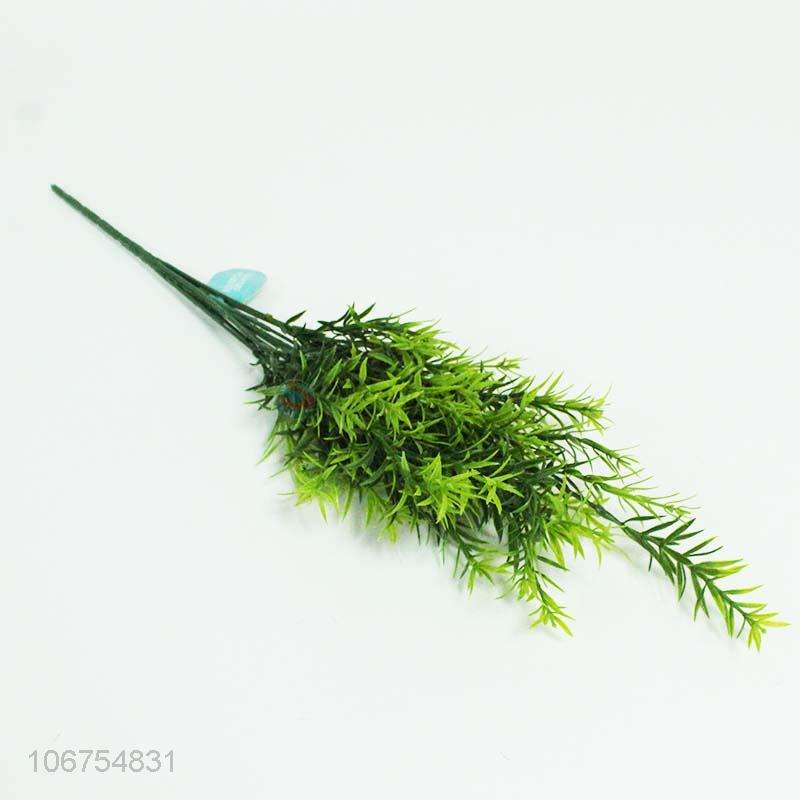 Low Price 9 Heads Simulation Grass For Home Decoration