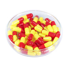 Customize Medicine Pill Separated Empty Vegetable Capsule