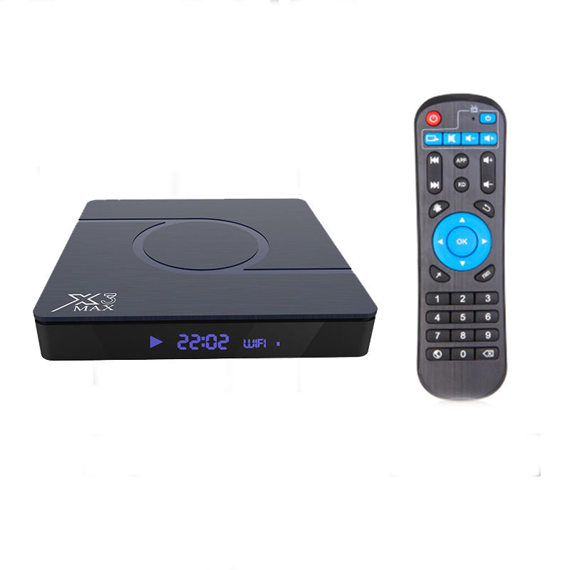 2020 Newest tv box X88PRO RK3318 chipset Android TV BOX 4GB 32GB 64GB Android 9 X88 PRO X3 MAX Amlogic S905X3 SET TOP BOX 32/64G