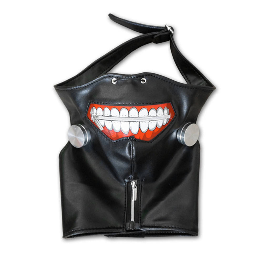 Tokyo Ghoul Pattern Mask Zipper Mask Cosplay Ghost Mask