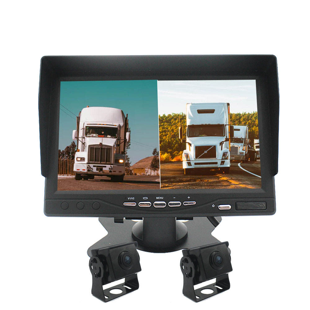 7 Inch Car/Bus/Truck/Trailer Monitor AHD Monitor Truck Rear View Camera System