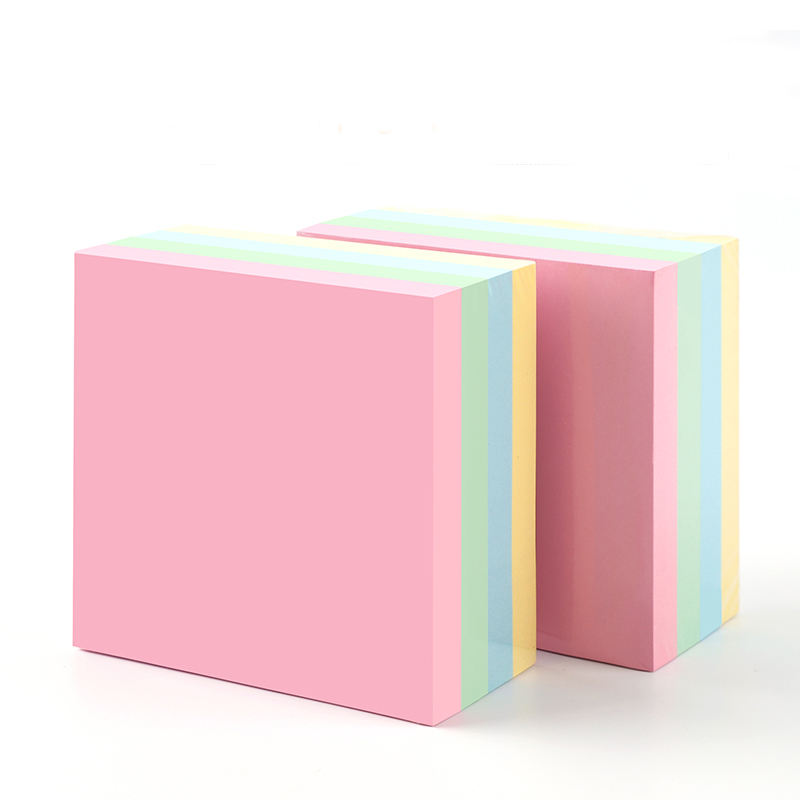 High quality sticky note custom shape post-it note sticky notes
