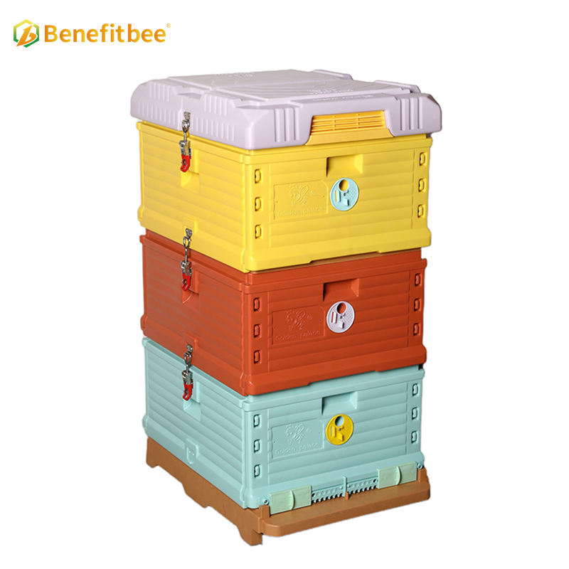 Benefitbee newest plastic Thermo Beehive beekeeping equipment bee hive 10 frames
