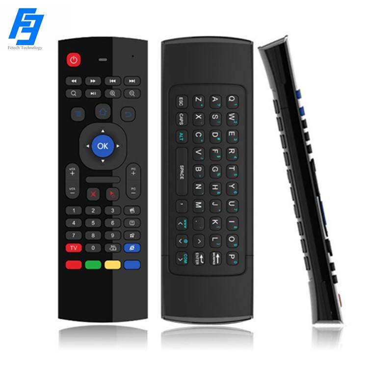 Wireless Keyboard 2.4G MX3 Android Remote Control for Android TV Box/PC/Smart TV/Projector/HTPC/All-in-one PC Smart TV Remote