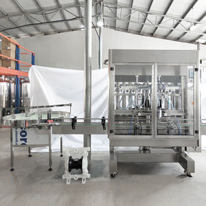 Lienm Automatic Piston Body Wash/ Car Washer /Liquid Soap Filling Machine 4 heads Volumetric Filler Machinery