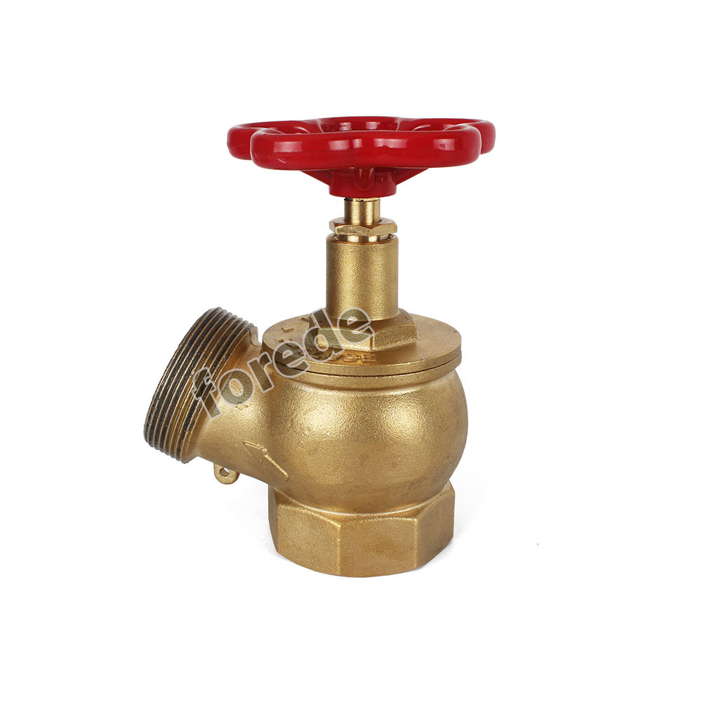 Oblique Fire hydrant landing valve price for 2.5''