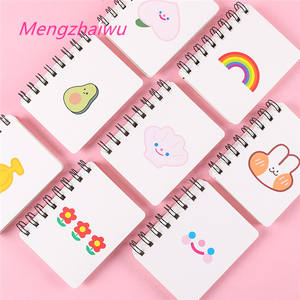 Canada kawaii school supplies stationery cartoon cute small size cheap bulk notebook printing cheapest personalized notepad