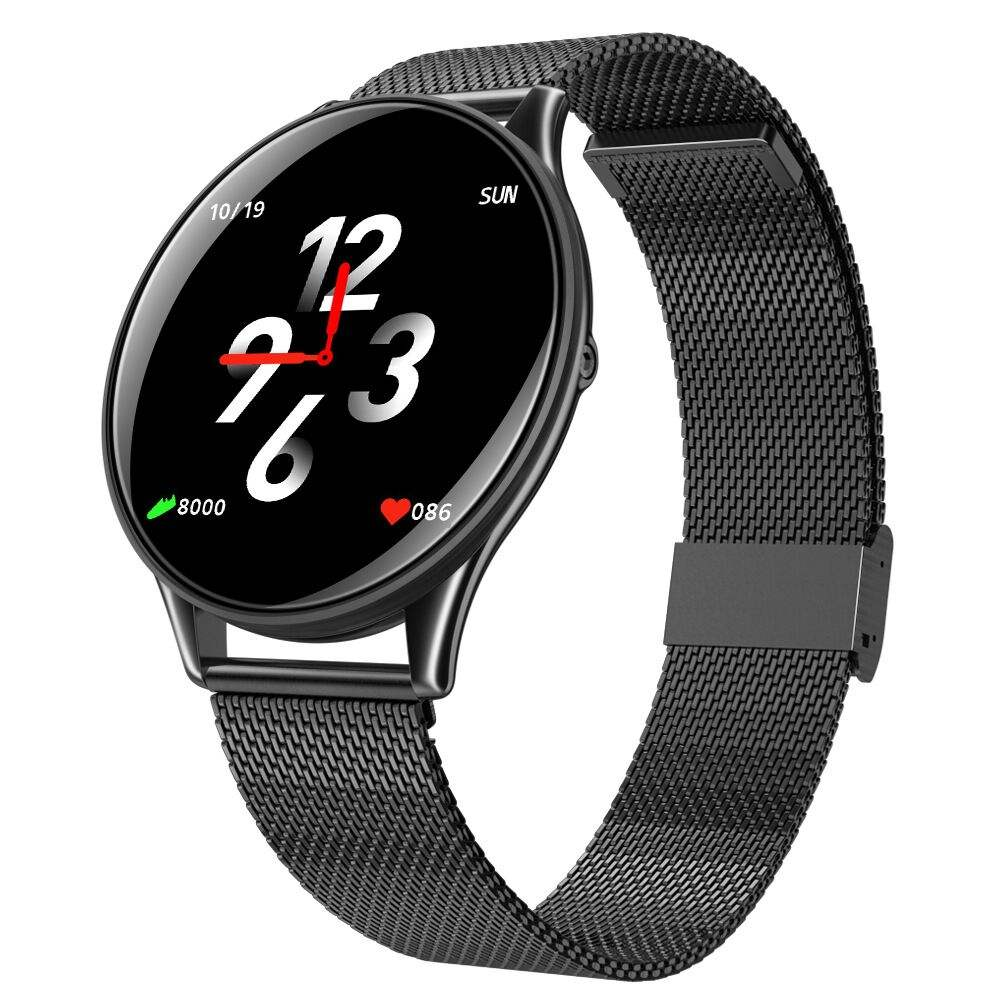 SN58 Fashion Smart Watch IP68 Super Slim Round Screen Multiple Sport Mode Fitness Smartwatch 2020