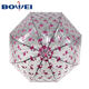 2019 New dome clear style Apollo transparent print poe umbrella