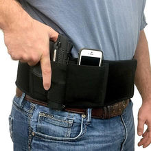 Belly Band Holster For Concealed Carry, Womens Waistband Magnetic Revolver Hand Gun Holster