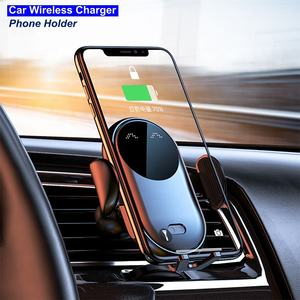HEPHIS Vehicle mount Magnetic Phone Car Holder 15W Wireless Wireless Charger Phone Charger Car