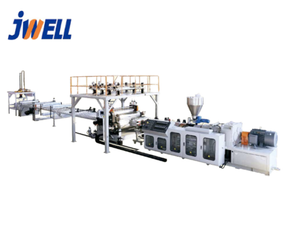 JWELL SPC Laminate flooring production machine line