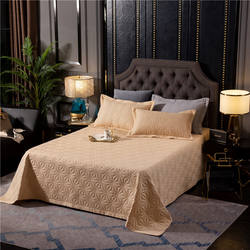 100% Polyester Decorative Bedspread bed sheet bedding set