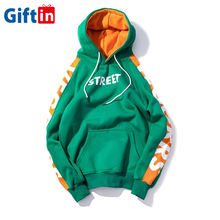 2020 Personalized Manufacturer Pocket Fashion Street Jumper Printing Thick Embroidery Custom Hoodie custom jumper