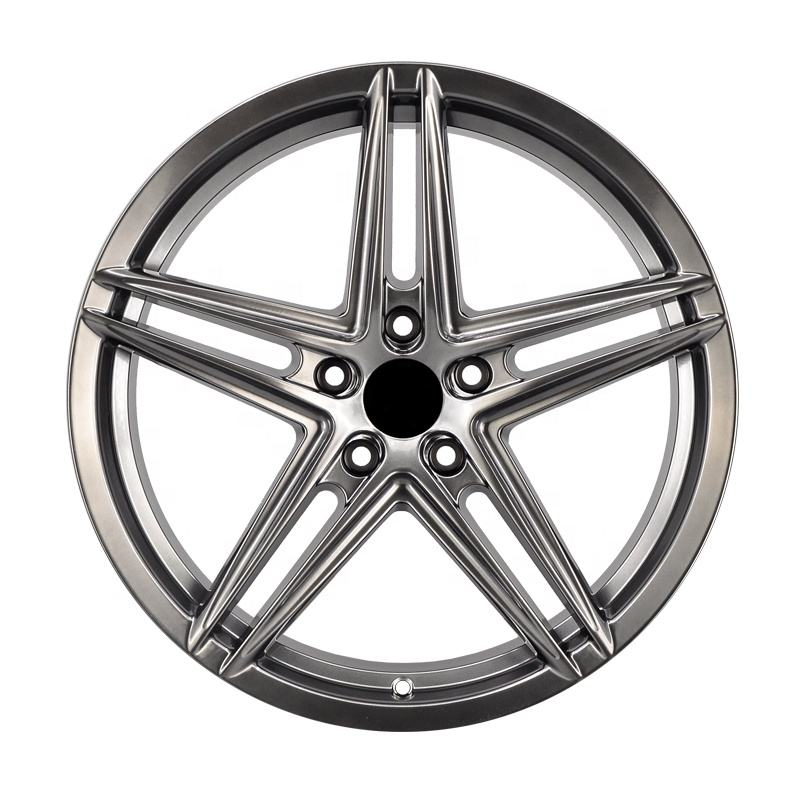 Gun gray 17 18 inch alloy wheels PCD5X120 aluminum alloy cast car rim