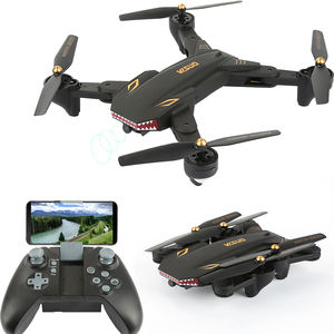 Black Shark Drone Video Long Time Flying Foldable Mini Selfie Drone With HD Camera WIFI FPV RTF Quadcopter Visuo XS809S remoto
