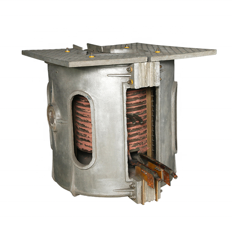 5Ton induction scrap iron cast iron steel melting furnace for melting steel
