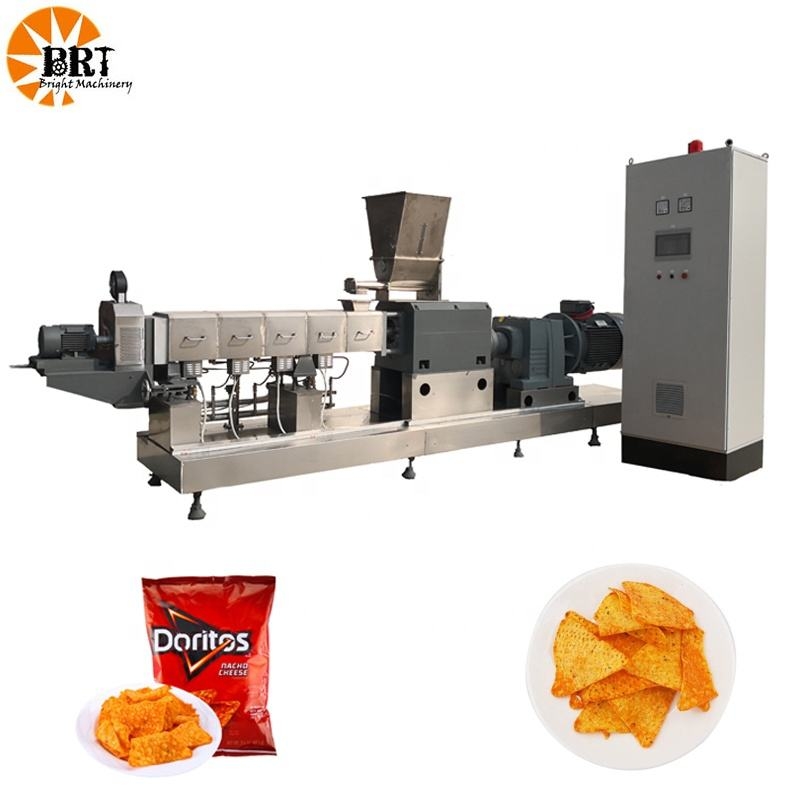 corn chips making processing line nachos machinery tortilla chips making machine