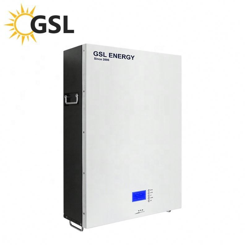 GSL ENERGY 5Kw 7Kw 10Kw LiFePO4 Lithium Battery Pack Solar Panel System Grid Tied Solar Power System Home