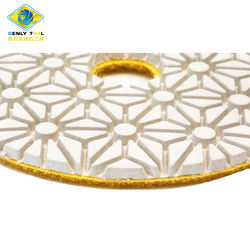 3 step Flexible Diamond Polishing Pads For Angle Grinder Engineered Stone Granite Marble Quartz Stone Grinding Tools