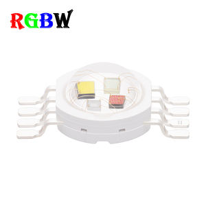 RGB Putih 4 Chip Dalam Satu Daya Tinggi 4*1W RGBW LED Lumen Tinggi Chip LED Moving Head cuci RGBW RGBW LED Chip