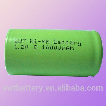2017 EWT Large stock Ni-MH AA 10000mAh 1.2V rechargeable battery used for medical equipment accessory