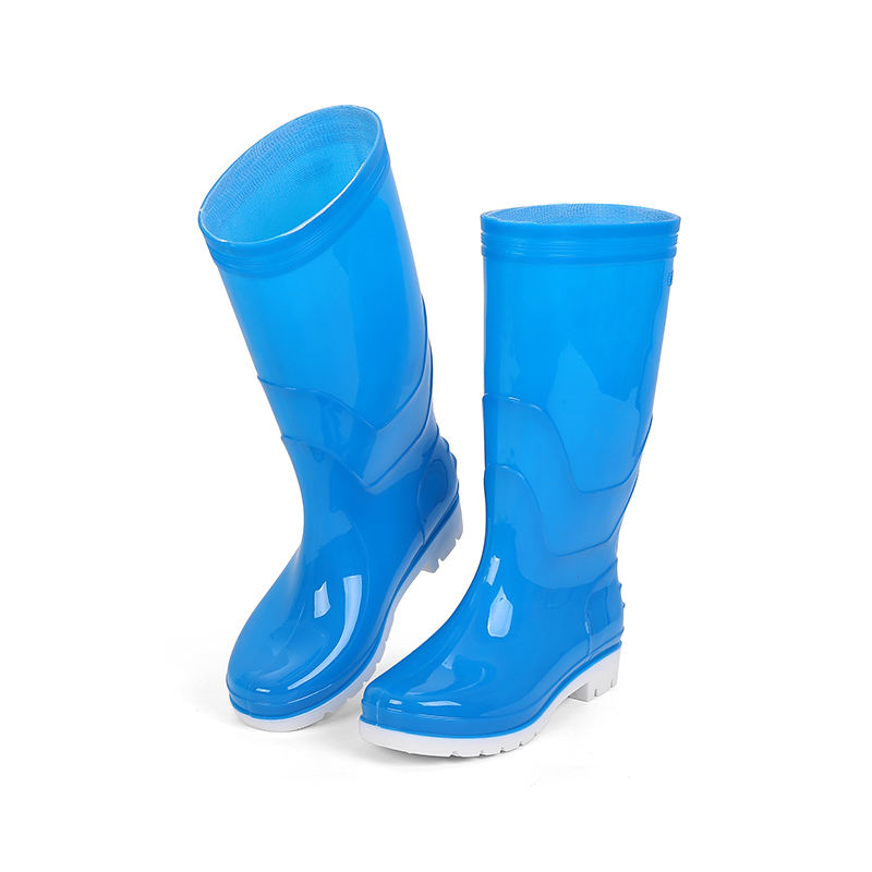 Rubber ShoesためRain Season Mens Industry Safety Men Clear Pvc Rain Boots