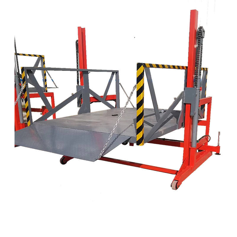 1.6m hydraulic mobile truck loading unloading dock lift platform ramp