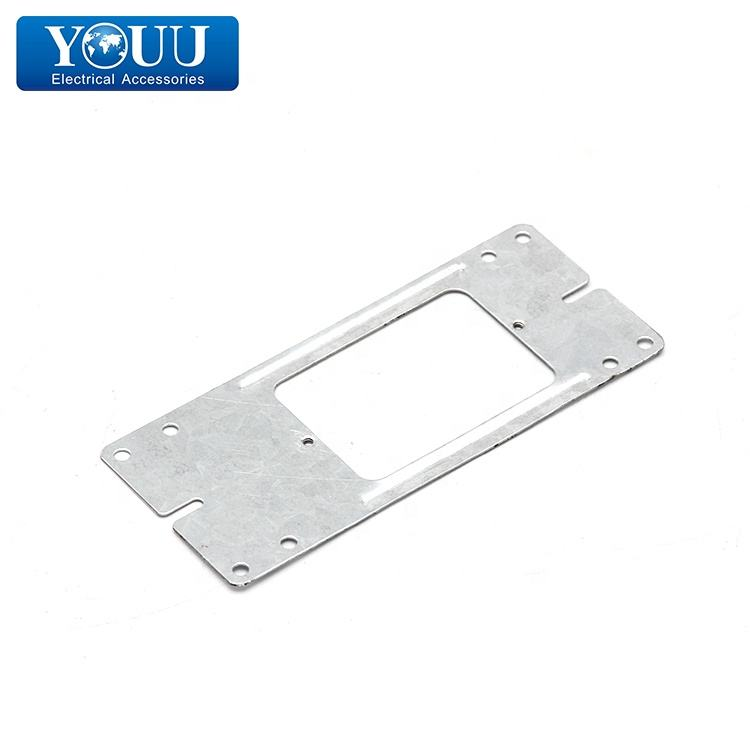 YOUU China Products Metal Plaster Bracket Flat Mounting Bracket 1.0mm Thickness for Australia Market PB80