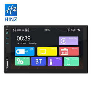 2020 Hot Sale High Quality Low Price 2 din 7 Inch Car MP5 Player ,Built-in Apple Carplay And Android Auto Car Radio
