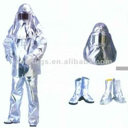 Export Quality High Temperature Resistance Aluminized Fire Suit Fireproof Suit