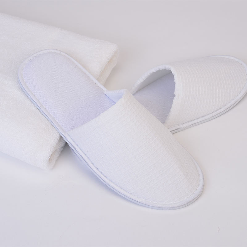 China Fabriek Antislip Indoor <span class=keywords><strong>Hotel</strong></span> Levert Gast Slippers