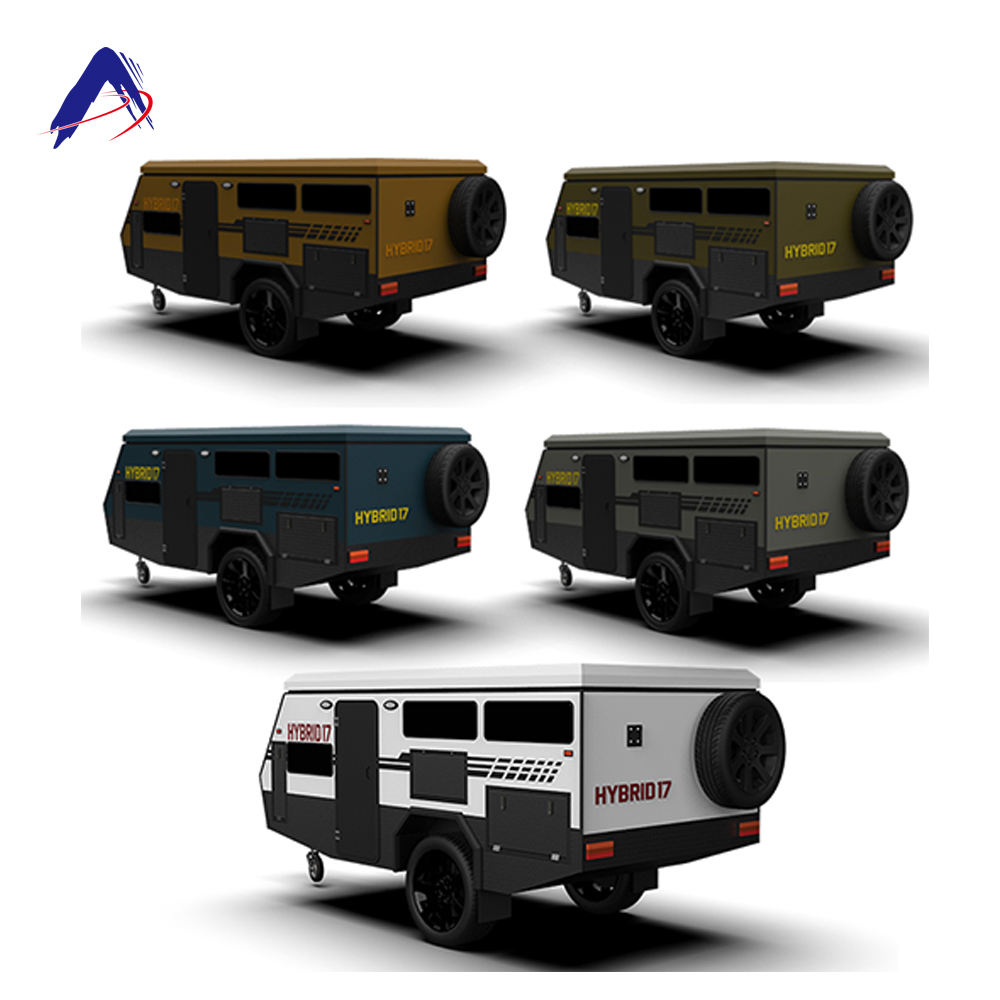For 4 or 5 people camper trailer manufacturers chinaAllroad adventurer Series camper trailer