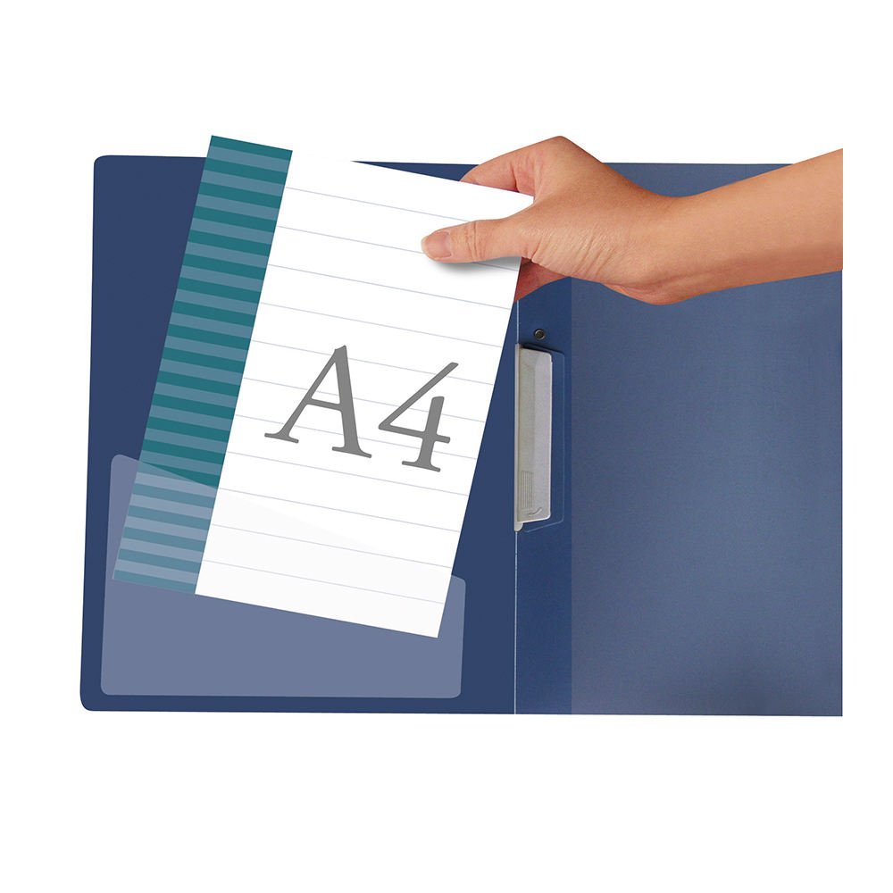Durable Self-Adhesive File Pockets for Right Hand