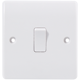 High Quality Professional Made Modular Bakelite Plate 1 Gang 2 Way Electrical Light Wall Switch