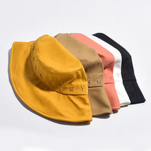 Custom fishing bucket hat with hand tag wholesale fisherman bucket hat