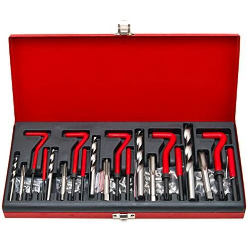 , Die Beschädigte Gewinde werkzeug 131 pc Professionelle Gewinde Reparatur tool Kit