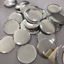 China wholesale 58mm metal material high quality round pin button badge for badge machine