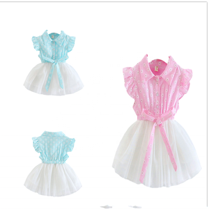 cute summer baby clothes girls cotton dresses girls casual boutique dress