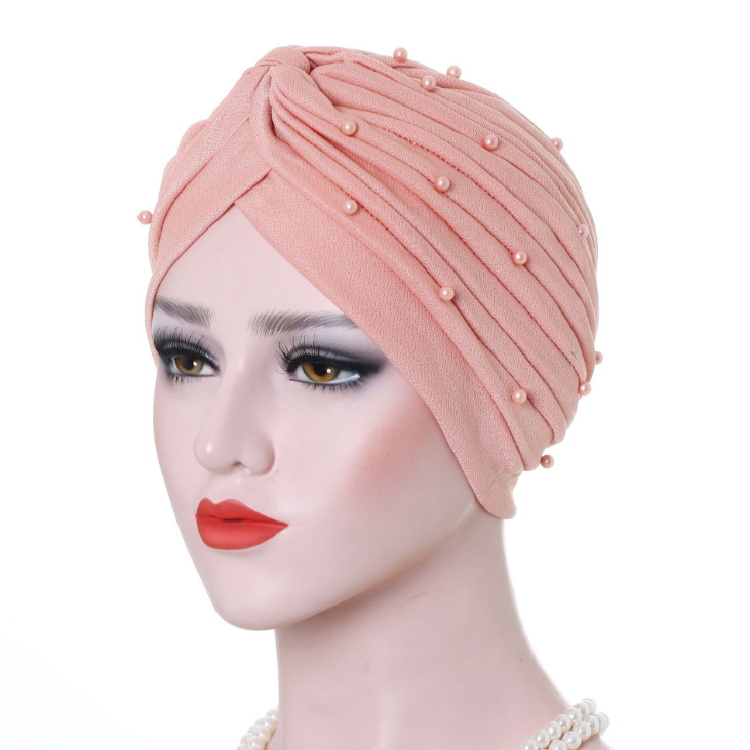 Großhandel Milch Seide <span class=keywords><strong>Gebet</strong></span> Hüte Wraps Hijab Caps Muslim Kappe Turban Mit Perle