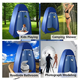 Pop Up Tent Hot Selling Pop Up Shower Tent Portable Changing Room Automatic Beach Privacy Tent For Outdoor
