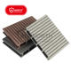 Factory Direct Terrace Interlocking Elastic Moisture Resistant WPC Capped Decking