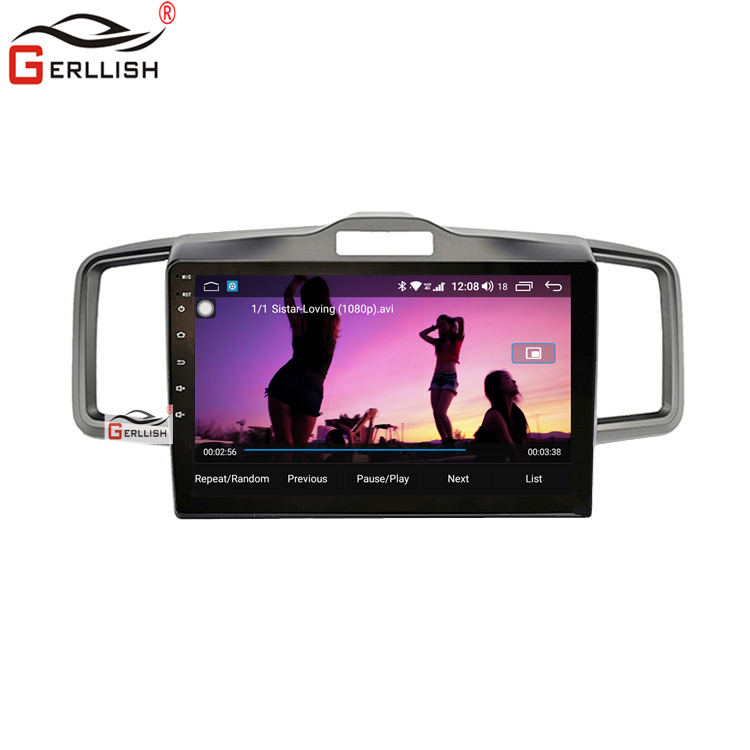 Radio con gps para coche, reproductor con Android, dvd, Mirror Link, para <span class=keywords><strong>Honda</strong></span> Freed Fit, mpv