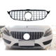 GTR Grille Front Bumper Grille for Mercedes Benz W205 C CLASS Chrome Black 2015+