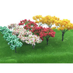 Wholesale High Quality Cheap Miniature Model Trees  , Factory Supply Model Tree Miniature Tree Model