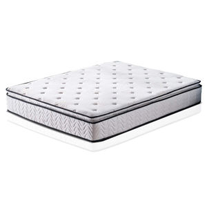 Memory Foam Innerspring Independently Hybrid Mattress - Pillow Top Mattress - Bed in a Box -Queen
