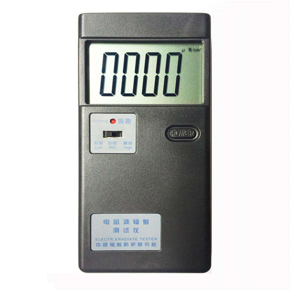 QX-5 Digital Display Radiation Detector Electromagnetic Tester Electromagnetic In 5HZ-5000MHZ Economical Field Strength Meter
